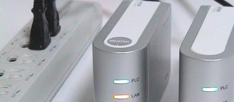 PLCアダプター (有線LAN)